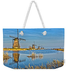 Five Windmills At Kinderdijk Weekender Tote Bag