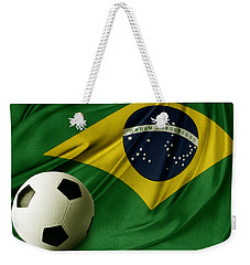 Flag And Ball Weekender Tote Bag