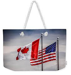 Flag Duo Weekender Tote Bag