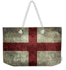 Flag Of England St Georges Cross Vintage Version To Scale Weekender Tote Bag