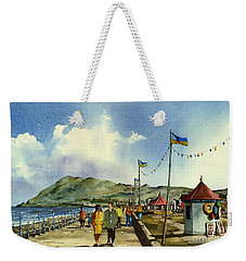As I Walk Along The Promenade With An Independant Air  ....... Weekender Tote Bag