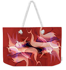 Flailing Abstract Weekender Tote Bag