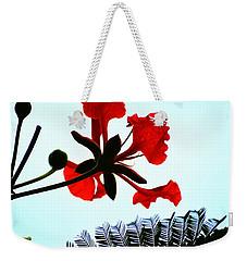 Flamboyant Zen Weekender Tote Bag