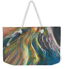 Flame Weekender Tote Bag by Melinda Dare Benfield