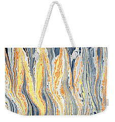 Flames Weekender Tote Bag by Menega Sabidussi