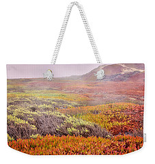 Flaming Ice Weekender Tote Bag by Caitlyn  Grasso
