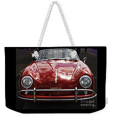 Flaming Red Porsche Weekender Tote Bag