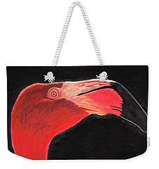 Flamingo Art By Sharon Cummings Weekender Tote Bag by Sharon Cummings