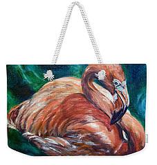 Flamingo Flare Weekender Tote Bag