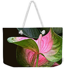 Flamingo Flower Weekender Tote Bag