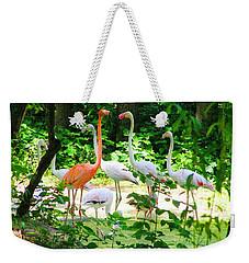Flamingo Weekender Tote Bag