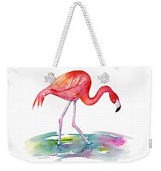 Flamingo Step Weekender Tote Bag