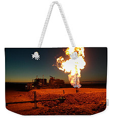 Flare And A Vacuum Truck Weekender Tote Bag