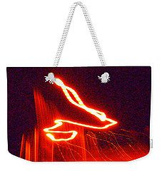 Flare Up On The Sun Weekender Tote Bag