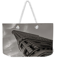 Flat Iron Building Weekender Tote Bag