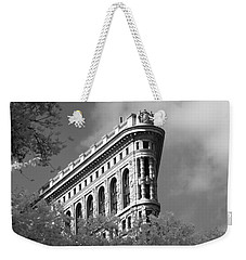 New York City - Flat Iron Prow Weekender Tote Bag