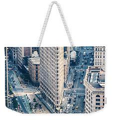 Flat Iron Building Weekender Tote Bag