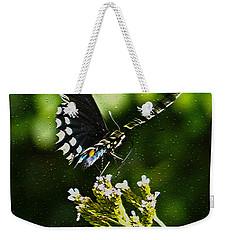 Flattering Flutter Weekender Tote Bag