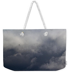 Fleeing The Storm   Weekender Tote Bag