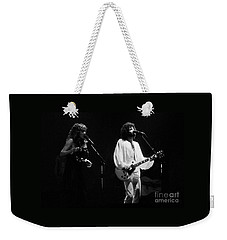 Fleetwood Mac In Amsterdam 1977 Weekender Tote Bag