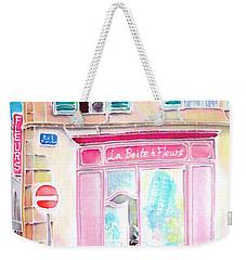 Fleuriste Weekender Tote Bag