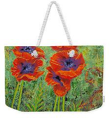 Fleurs Des Poppies Weekender Tote Bag