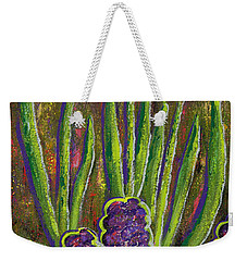 Fleurs D' Tulips And Hyacinths Weekender Tote Bag by Margaret Bobb