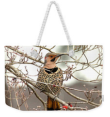 Flicker - Alabama State Bird - Attention Weekender Tote Bag