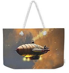 Flight At Sunset Weekender Tote Bag by Ken Morris