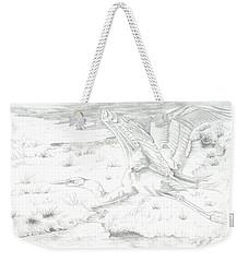 Flight Of Grace Weekender Tote Bag