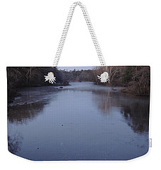 Weekender Tote Bag featuring the photograph Flint River 1 by Kim Pate