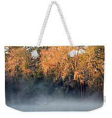 Weekender Tote Bag featuring the photograph Flint River 14 by Kim Pate