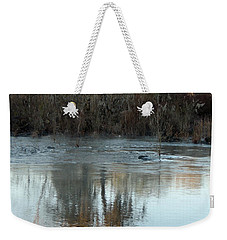 Weekender Tote Bag featuring the photograph Flint River 17 by Kim Pate