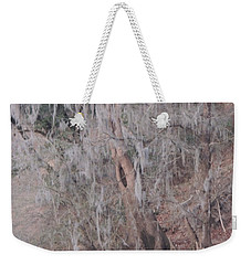 Weekender Tote Bag featuring the photograph Flint River 2 by Kim Pate