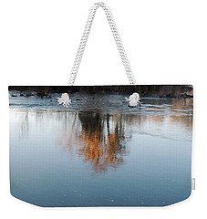 Weekender Tote Bag featuring the photograph Flint River 21 by Kim Pate