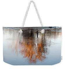 Weekender Tote Bag featuring the photograph Flint River 22 by Kim Pate