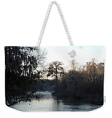 Weekender Tote Bag featuring the photograph Flint River 23 by Kim Pate