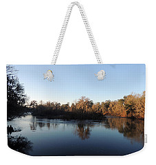 Weekender Tote Bag featuring the photograph Flint River 26 by Kim Pate