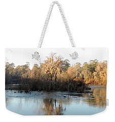 Weekender Tote Bag featuring the photograph Flint River 27 by Kim Pate