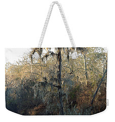 Weekender Tote Bag featuring the photograph Flint River 30 by Kim Pate