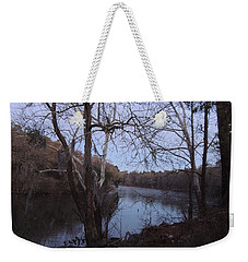 Weekender Tote Bag featuring the photograph Flint River 4 by Kim Pate