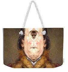 Flipped Ben 2 Weekender Tote Bag