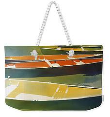 Floaters Weekender Tote Bag by Kris Parins