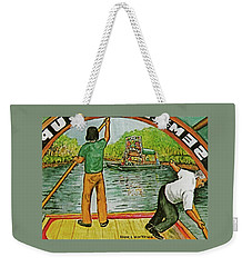 Floating Gardens Xochimilcho Mexico Weekender Tote Bag by Frank Hunter