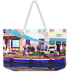Floating Grocery Store Weekender Tote Bag by Mike Robles
