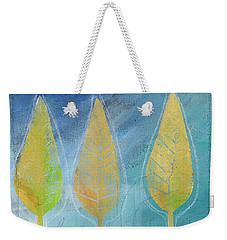 Floating Weekender Tote Bag by Linda Woods