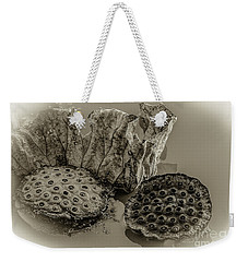 Floating Lotus Seed Pods 2 Weekender Tote Bag