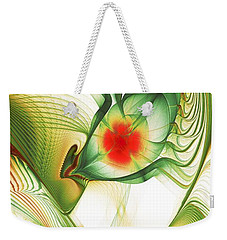 Weekender Tote Bag featuring the digital art Floating Thoughts by Anastasiya Malakhova