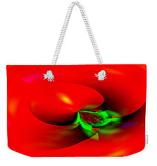 Floating Tomato Weekender Tote Bag by Hai Pham