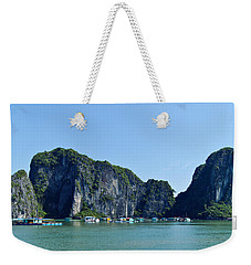Floating Village Ha Long Bay Weekender Tote Bag